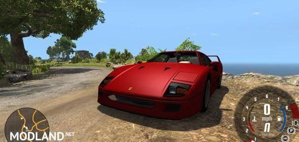 Ferrari F40 Car Mod [0.5.6]